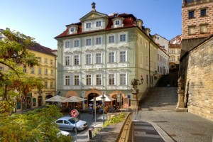 Golden Star hotel Trebon spa town